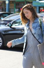 MINKA KELLY Shopping at Whole Foods in Los Angeles 06/28/2018