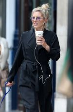 MOLLIE KING Out with Her Dog in London 06/08/2018