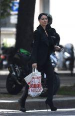 MONICA BELLUCCI Out Shopping in Paris 06/07/2018