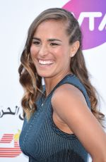 MONICA PUIG at WTA Tennis on the Thames Evening Reception in London 06/28/2018