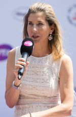 MONICA SELES at WTA Tennis on the Thames Evening Reception in London 06/28/2018