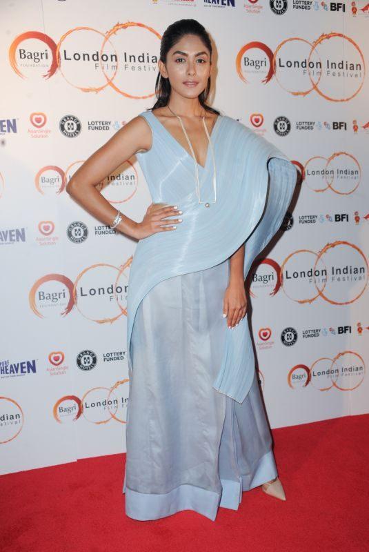 MRUNAL THAKUR at Love Sonia Premiere at London Indian Film Festival 06/21/2018