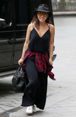 MYLEENE KLASS Out and About in London 06/01/2018