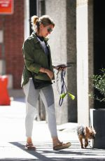 NAOMI WATTS Out with Her Dog in New York 06/11/2018