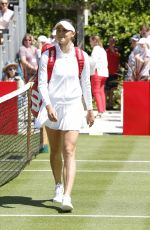 NATALIA VIKHLYANTSEVA at Aspall Tennis Classic Match at Hurlingham in London 06/27/2018