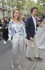 NATALIA VODIANOVA at Dior Homme Spring/Summer Fashion Show in Paris 06/23/2018