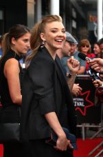 NATALIE DORMER at In Darkness Premiere at 2018 Edinburgh International Film Festival 06/26/2018