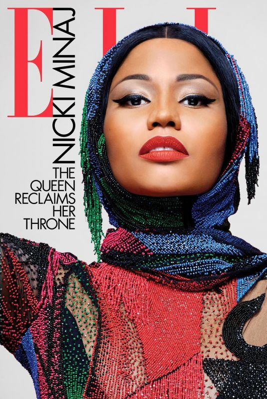 NICKI MINAJ for Elle Magazine, July 2018