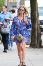 NICKY HILTON Out and About in New York 06/15/2018