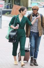 NICOLA TORP and Charlie De Melo Out in Manchester 06/13/2018