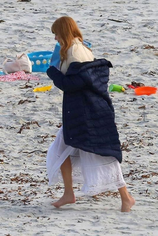 NICOLE KIDMAN on the Set of Big Little Lies in Monterey 06/12/2018