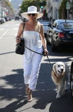 NICOLLETTE SHERIDAN Out for Lunch at Il Pastaio in Beverly Hills 06/27/2018