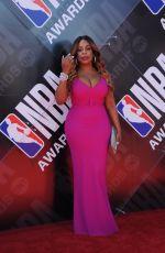 NIECY NASH at 2018 NBA Awards at Barker Hangar in Santa Monica 06/25/2018