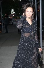NINA DOBREV Arrives at Dior Makeup Launch Dinner in New York 06/07/2018