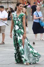 OLGA BUZOVA on the Set of a Photoshoot in Venice 06/13/2018