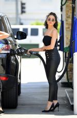 OLIVIA CULPO at a Gas Station in Los Angeles 06/07/2018