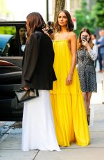 OLIVIA CULPO Heading to 2018 CFDA Fashion Awards in New York 06/05/2018