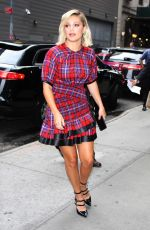 OLIVIA HOLT Arrives at Good Morning America in New York 06/07/2018
