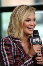 OLIVIA HOLT at Build Series in New York 06/07/2018