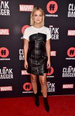 OLIVIA HOLT at Cloak & Dagger Screening in West Hollywood 05/31/2018