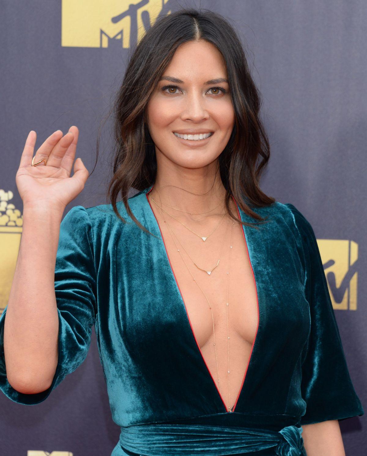 OLIVIA MUNN at 2018 MTV Movie and TV Awards in Santa ... Olivia Munn