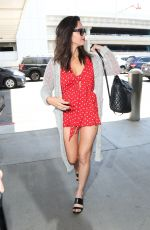OLIVIA MUNN at LAX Airport in Los Angeles 06/18/2018