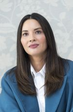 OLIVIA MUNN at The Rock Press Conference in London 06/12/2018