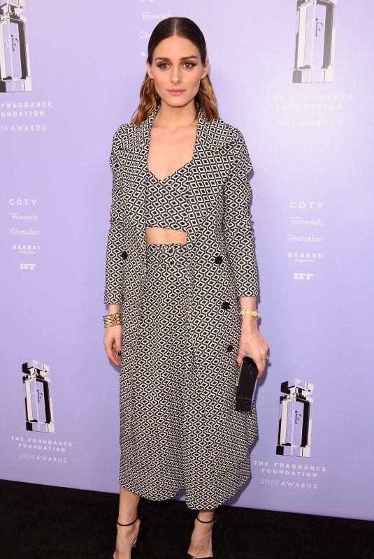 OLIVIA PALERMO at 2018 Fragrance Foundation Awards in New York 06/12/2018