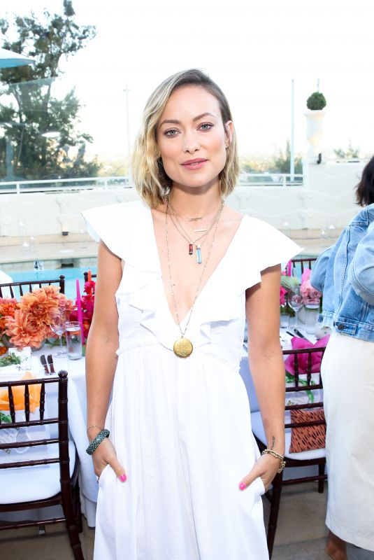 OLIVIA WILDE at A Summer Gathering Hosted by True Botanicals in Los Angeles 06/12/2018