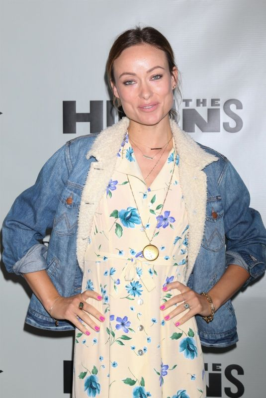 OLIVIA WILDE at The Humans Play Opening Night at Ahmanson Theatre in Los Angeles 06/20/2018