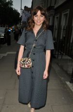 OPHELIA LOVIBOND at Moet Summer House Launch Party in London 06/07/2018