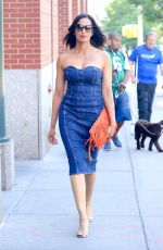PADMA LAKSHMI Out and About in New York 06/26/2018