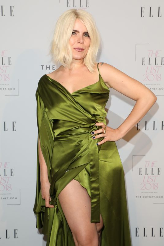 PALOMA FAITH at Elle List 2018 in London 06/04/2018