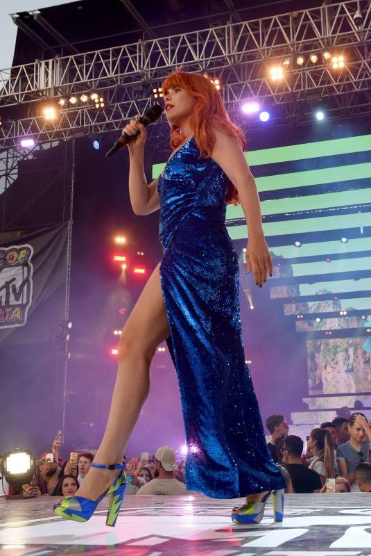PALOMA FAITH Performs at Isle of MTV in Malta 06/27/2018