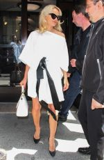PAMELA ANDERSON Leaves Megyn Kelly Today Show in New York 06/06/2018