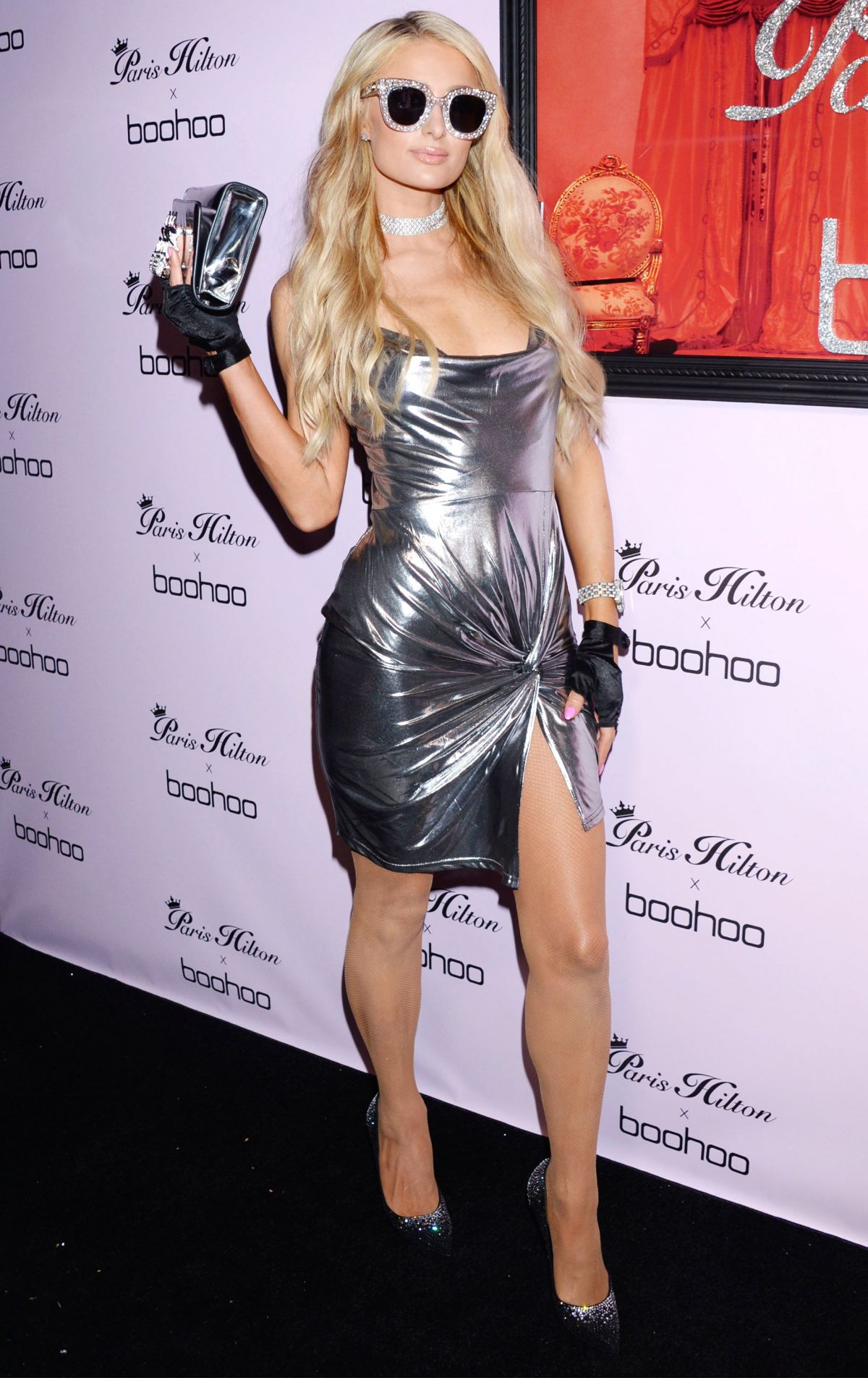 3f6a736277b7 PARIS HILTON at Boohoo x Paris Hilton Launch Party in Los Angeles 06/20/