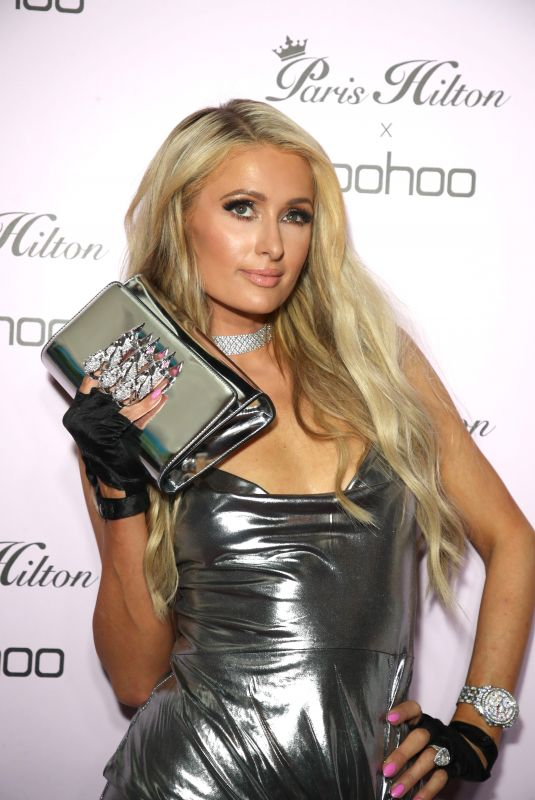 PARIS HILTON at Boohoo x Paris Hilton Launch Party in Los Angeles 06/20/2018