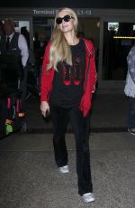 PARIS HILTON at LAX Airport in Los Angeles 06/27/2018