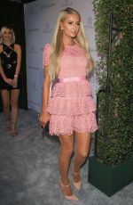 PARIS HILTON at Opening of Totalee Hair Salon in Beverly Hills 06/28/2018