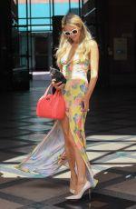 PARIS HILTON Shopping at Anastasia Salon in Beverly Hills 06/19/2018
