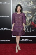 PERREY REEVES at Sicario: Day of the Soldado Premiere in Los Angeles 06/26/2018