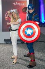 PERRIE EDWARDS at Marvel Summer of Super Heroes Opening at Disneyland in Paris 06/09/2018