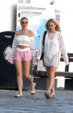 PERRIE EDWARDS Out and About at Mykonos 06/02/2018