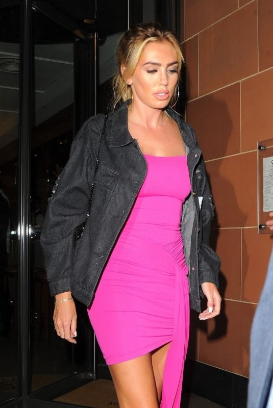 PETRA ECCLESTONE Night Out in London 06/27/2018