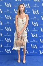 PHOEBE DYNEVOR at Victoria and Albert Museum Summer Party in London 06/13/2018
