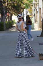 PHOEBE PRICE Out Shopping in Beverly Hills 06/06/2018