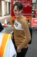 PHOEBE WALLER-BRIDGE Arrives at James Corden