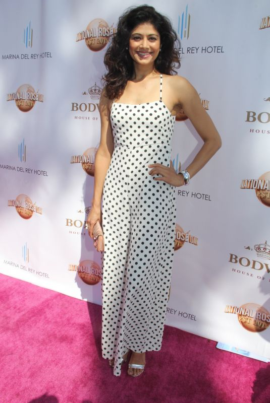 POOJA BATRA at House of Roses Celebrates Official National Rosa Day by Bodvar in Hollywood 06/11/2018