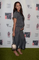 Pregnant AMBER STEVENS at Antiquities Premiere in Los Angeles 06/16/2018