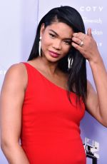 Pregnant CHANEL IMAN at 2018 Fragrance Foundation Awards in New York 06/12/2018